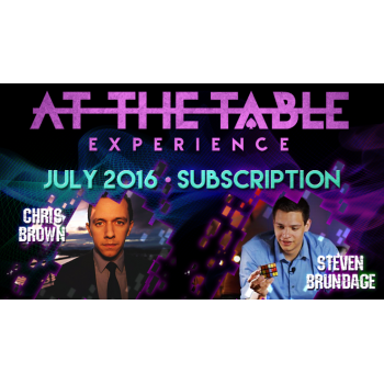At The Table July 2016...