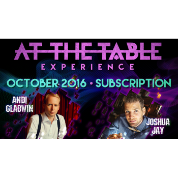 At The Table October 2016...