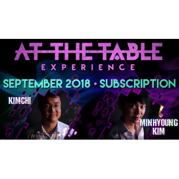 At The Table September 2018...