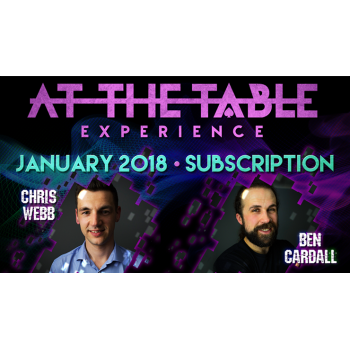 At The Table January 2018...