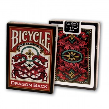 Bicycle Dragon Back red and...